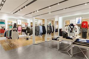 时尚连锁专卖品牌店装修设计案例